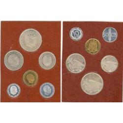 España Serie. 1957. *75. PRF. (Cartera 6 VAL.FNMT). (El 50 cts.SC). CUNI. CT. 151