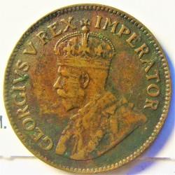 Sudafrica ¼ Penny. 1931. AE. 2,8gr. Ø20mm. BC+/MBC-. (Oxid.). KM. 12.2
