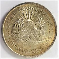 Mejico 5 Pesos. 1957. Mejico. SC-. (Hidalgo). AG. 18,05gr. Ø35mm. KM. 469