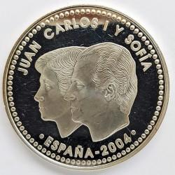 UE 10 €. 2002. PRF. (Isabel I de Castilla). AG. 27gr. Ø40mm. KM. 1060