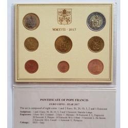 UE Serie UE. 2017. SC. (VATICANO)-(Escudo Armas Vaticano-Papa Francisco). CUNI
