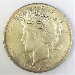 Usa 1 Dolar. 1923. Filadelfia. SC-/SC. (Tipo Paz/Peace). AG. 26,73gr. Ø38mm. KM. 150