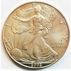 Usa 1 Dolar. 2002. SC. (ONZA-Libertad). AG. 31,1gr. Ø40,6mm. KM. 273