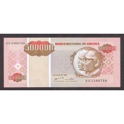 Angola 1000000 Kwanzas. 1995. SC. PIK. 141