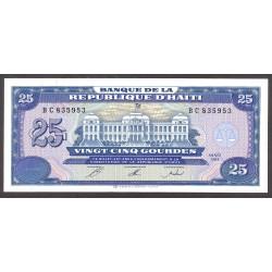 Haiti 25 Gourde. 1993. SC. PIK. 262 a