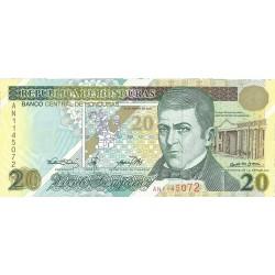 Honduras 20 Lempira. 2000. 30-03. SC. PIK. 83