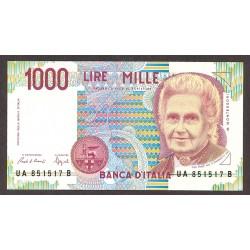 Italia 10000 Lira. 1976. -25/08. MBC. (Serie LB/C). (Muy nuevo con lev.doblez). PIK. a