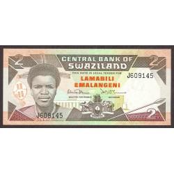 Swaziland 2 Emalangeni. 1992. SC. PIK. 18 a