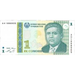 Tajikistan 200 Rublos. 1994. SC. PIK. 7 a