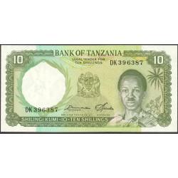 Tanzania 10 Shilingi. 1978. (s/f). SC. PIK. 6 c