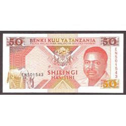Tanzania 200 Shilingi. 1993. SC. PIK. 25 b