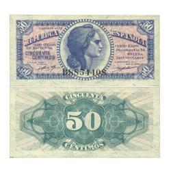 España 50 Cts. 1937. SC. (Serie B). EDF. C42 - PIK. 93