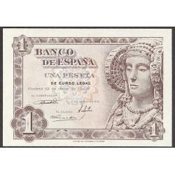 España 1 Ptas. 1948. SC. (Serie I-(D.Elche). PIK. 135a - EDF. D58 a