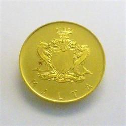 Malta 20 Liri. 1973. SC. AU. 6gr. KM. 22. Ø21mm