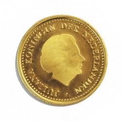 Antillas Holandesas 50 Gulden. 1979. PRF. (Juliana-75º Anv.Pacto). AU. 3,36gr. Ø18mm. KM. 23