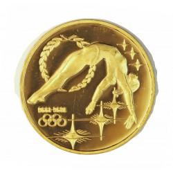 Australia 200 Dolar. 1993. PRF. (En cto.: Ley: Citius Altius Fortius). (100º Anv.Olim.Gimnasia)). AU. 16,82gr. Ø28mm. KM. 220