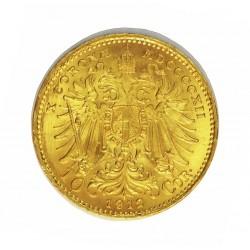 Austria-(y Estados) 10 Corona. 1912. EBC+/SC-. AU. 3,388gr. Ø19mm. KM. 2816
