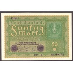 Alemania Imperio-(1871/1918) 50 Marcos. 1919. SC. PIK. 66