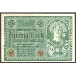 Alemania Imperio-(1871/1918) 50 Marcos. 1920. SC. PIK. 68