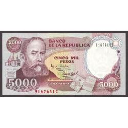 Colombia 5000 Pesos. 1995. SC. PIK. 441