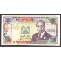 Kenia 100 Shilingi. 1991. SC. PIK. 27 c