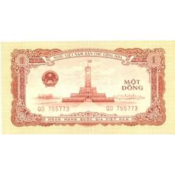 Vietnam.-Rep.Dem. 1 Dong. 1958. SC-/SC. (Nuevo con lev.marquitas). PIK. 71 a
