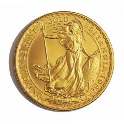 Gran Bretaña 100 Libra/Pound. 1988. SC. (Onza). AU. 34,05gr. Ø32mm. KM. 953