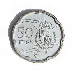 España 50 Ptas. 2000. SC. (Acuñación Especial en PLATA). AG. 6,56gr. Ø20,5mm