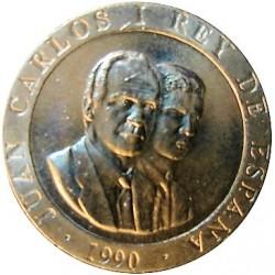 España 200 Ptas. 1990. SC. (Cibeles). NI. 10,5gr. Ø25,5mm. CAMP. 502