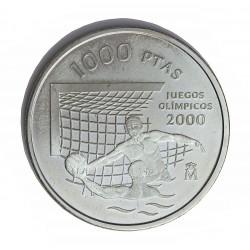 España 1000 Ptas. 1999. PRF. (Olimpiada de Sydney). (Sin caja ni certificado) . AG. 13,5gr. Ø33mm