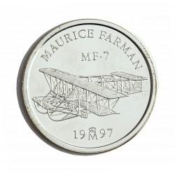 España 1 Euro. 1997. FDC. (Farman). AG. 6,72gr. Ø24mm