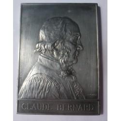 Francia Medalla. 1913. AL. 47,5gr. (CLAUDE BERNARD-Professeur). (110x79mm). SC-