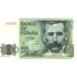 España 1000 Ptas. 1979. SC. (Sin Serie-(R.de Castro). EDF. E3 - PIK. 158