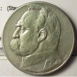 Polonia 5 Zlotych. 1934. Varsovia. AG. 11gr. Ley:0,750. (Stanislav). Ø27mm. MBC+/EBC-. KM. 25