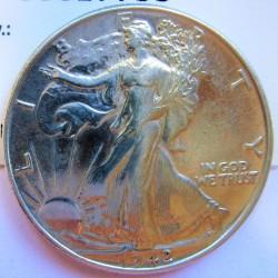 Usa ½ Dolar. 1942. Filadelfia. AG. 12,5gr. Ley:0,900. Ø30mm. EBC+/SC-. KM. 142