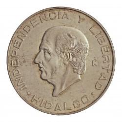 Mejico 10 Pesos. 1955. Mejico. AG. 28,88gr. Ley:0,900. (Hidalgo). Ø40mm. KM. 474
