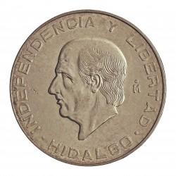Mejico 10 Pesos. 1956. Mejico. AG. 28,88gr. Ley:0,900. (Imagen tipo). (Hidalgo). Ø40mm. KM. 474