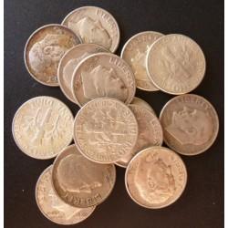 Usa LOTE. 1964. Denver. /Filadelfia. AG. 35gr. Ley:0,900. (14 Monedas). (14 Monedas de 1 Dime $--J.R.Sinnock). Ø17mm. EBC. KM. 1