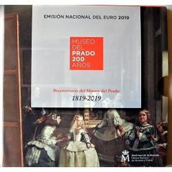 """UE Serie UE. 2019. CUNI. (Estuche Oficial de 9 Mdas.""""200º Anv.Museo del Prado""""/""""Murallas de Ávila""""). SC"""