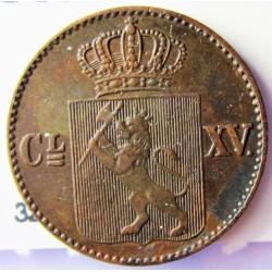 Noruega ½ Skilling. 1867. CU. 3gr. Ø18,5mm. MBC+. KM. 329