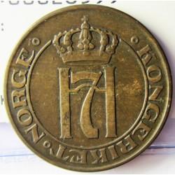 Noruega 5 Ore. 1914. CU. 8gr. Ø27mm. MBC. KM. 368