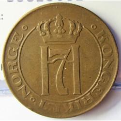 Noruega 5 Ore. 1922. CU. 8gr. Ø27mm. MBC. (Gpctos.). KM. 368