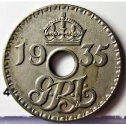 Nueva Guinea 6 Pence. 1935. CUNI. 2,7gr. Ø19mm. EBC+/SC-. KM. 4