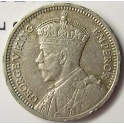 Nueva Zelanda 3 Pence. 1936. AG. 1,41gr. Ley:0,500. (Patu cruzado). Ø16mm. EBC-/EBC. KM. 1