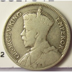 Nueva Zelanda 6 Pence. 1934. AG. 2,83gr. Ley:0,500. Ø19mm. BC+/MBC-. KM. 2
