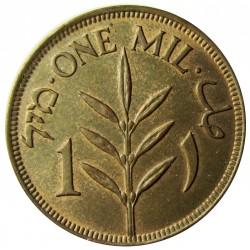 Palestina 1 Mils. 1927. AE. 3,2gr. Ø21mm. SC-/SC. (Patina). KM. 1