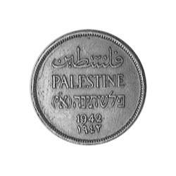 Palestina 1 Mils. 1942. AE. 3,19gr. Ø20,5mm. EBC+/SC-. KM. 1