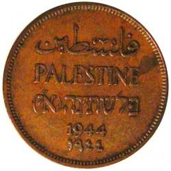 Palestina 1 Mils. 1944. AE. 3,19gr. Ø20,5mm. MBC+. KM. 1