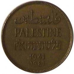 Palestina 2 Mils. 1941. AE. 7,85gr. Ø28mm. EBC+. (Insig.gpcto.). KM. 2