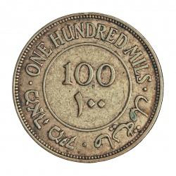 Palestina 100 Mils. 1940. AG. 11,663gr. Ley:0,720. Ø29mm. MBC+. ebc-. KM. 7